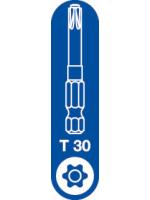T-30 Spax T-Star Plus Drive bit. 50mm. Pack of 5.